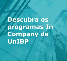 Descubra os programas In Company da UnIBP